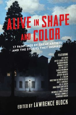 Cover image for Alive in shape and color : 17 paintings by great artists and the stories they inspired