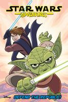 Cover image for Star Wars Adventures 8 - Defend the Republic!