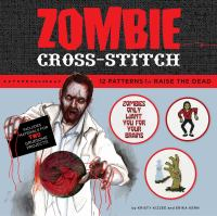 Cover image for Zombie cross-stitch