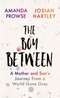 Cover image for The boy between a mother and son's journey from a world gone grey