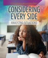 Cover image for Considering every side : analyzing situations