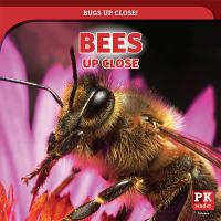 Cover image for Bees up close