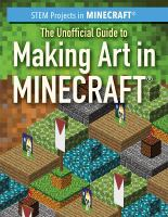 Cover image for The Unofficial guide to making art in Minecraft