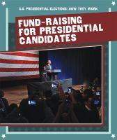Imagen de portada para Fund-raising for presidential candidates