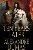 Cover image for Ten years later