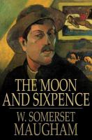 Cover image for The moon and sixpence