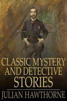 Imagen de portada para Classic English mystery and detective stories