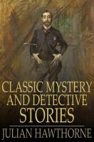 Cover image for Classic English mystery and detective stories