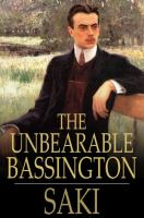 Cover image for The unbearable Bassington