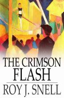 Cover image for The crimson flash