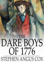 Cover image for The dare boys of 1776