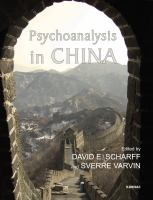 Cover image for Psychoanalysis in China