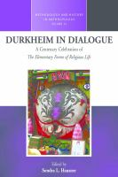 Cover image for Durkheim in dialogue  a centenary celebration of the elementary forms of religious life