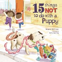 Cover image for 15 things not to do with a puppy