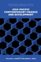 Cover image for Asia-Pacific contemporary finance and development
