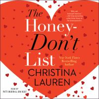 Cover image for The honey-don't list