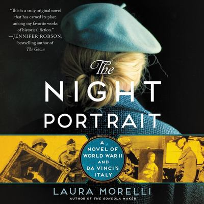 Cover image for The night portrait a novel of World War II and Da Vinci's Italy