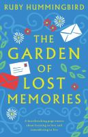 Cover image for The garden of lost memories