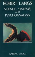 Cover image for Science, systems, and psychoanalysis