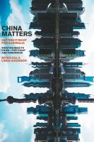 Cover image for China matters  getting it right for Australia : what we need to know-for today and tomorrow