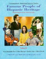 Cover image for Contemporary American success stories : famous people of Hispanic heritage