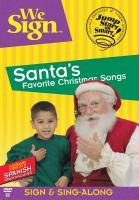 Cover image for Santa's favorite Christmas songs