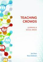 Cover image for Teaching crowds : learning and social media