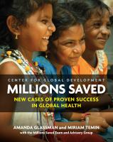 Cover image for Millions Saved  new cases of proven success in global health