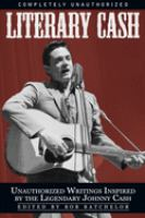 Cover image for Literary Cash unauthorized writings inspired by the legendary Johnny Cash