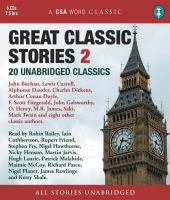 Cover image for Great classic stories 2. 20 unabridged classics
