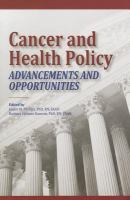 Cover image for Cancer and health policy  advancements and opportunities