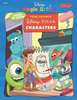 Cover image for Learn to draw your favorite Disney Pixar characters.