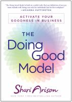 Cover image for The doing good model  activate your goodness in business