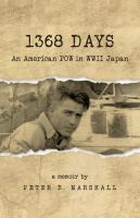 Cover image for 1368 days : an American POW in WWII Japan : a memoir