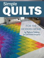 Cover image for Simple quilts for the modern home