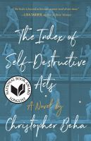 Cover image for The index of self-destructive acts