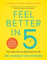 Cover image for Feel better in 5 : your daily plan to feel great for life