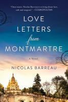 Cover image for Love letters from Montmartre