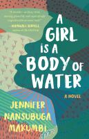 Cover image for A girl is a body of water