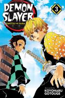 Cover image for Demon slayer. 3, Believe in yourself