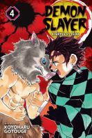 Cover image for Demon slayer. Kimetsu No Yaiba 4, Robust blade