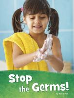 Cover image for Stop the germs!