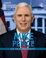 Cover image for Mike Pence : US Vice President