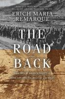 Cover image for The road back a novel