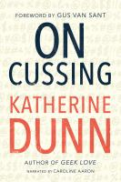 Cover image for On cussing Bad words and creative cursing