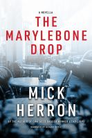 Cover image for The marylebone drop