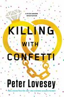 Cover image for Killing with confetti