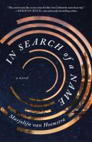 Cover image for In search of a name