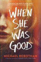 Cover image for When she was good