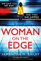 Cover image for Woman on the edge : a novel